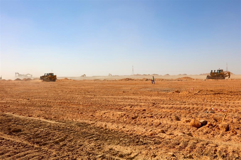 Roads & Infrastructure Works Project - Al Nahdha Military Area1