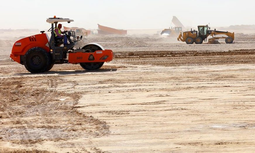 Roads & Infrastructure Works Project - Al Nahdha Military Area