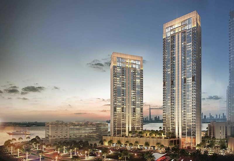 Creek Horizon Towers Project - Dubai Creek Harbour1