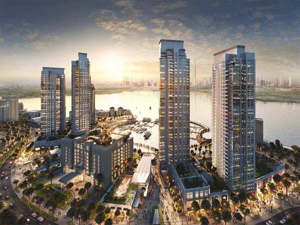Creek Horizon Towers Project - Dubai Creek Harbour