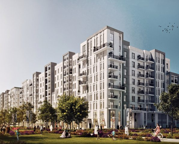 Residential Buildings Project - Town Square Development
