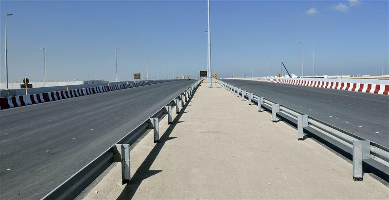 Flyover Construction Project - Tama-King Salman Street Link