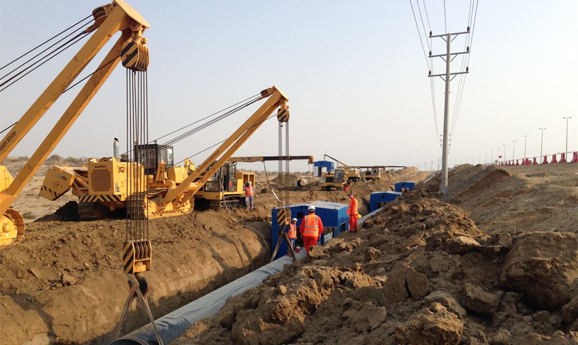 Potable Water Source Line Installation Project