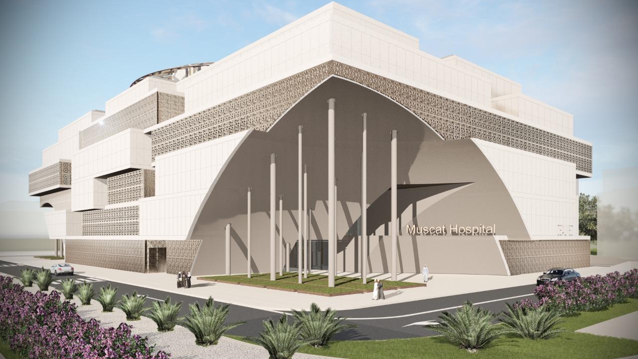 Idealmed Muscat Hospital Construction Project1