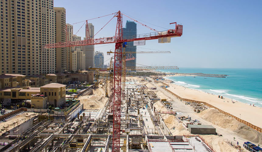 Infrastructure Construction Project - Madinat Al Arab