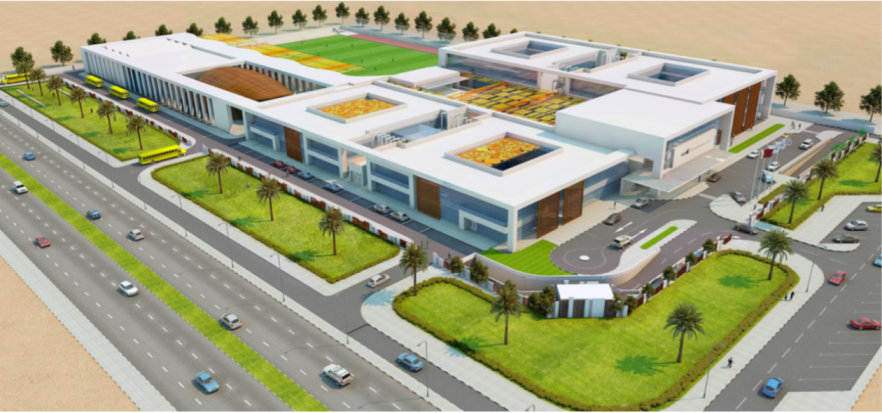 Oryx International School Project