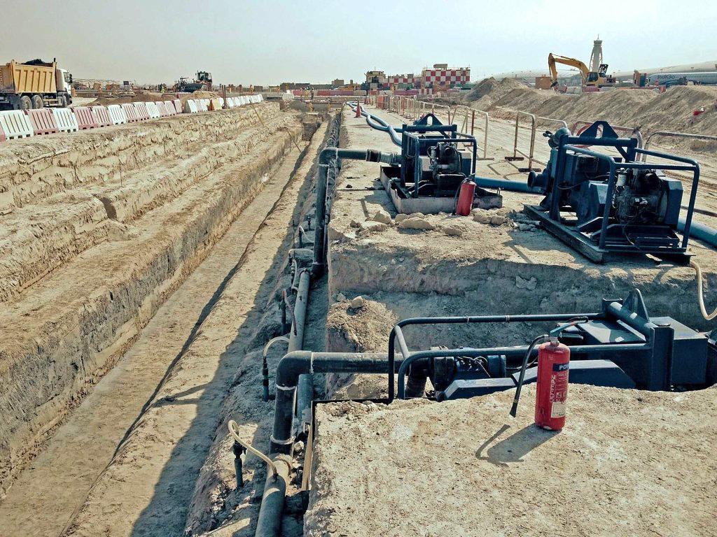 Sewerage & Storm Water Drainage Network Project - Al Khawaneej 2