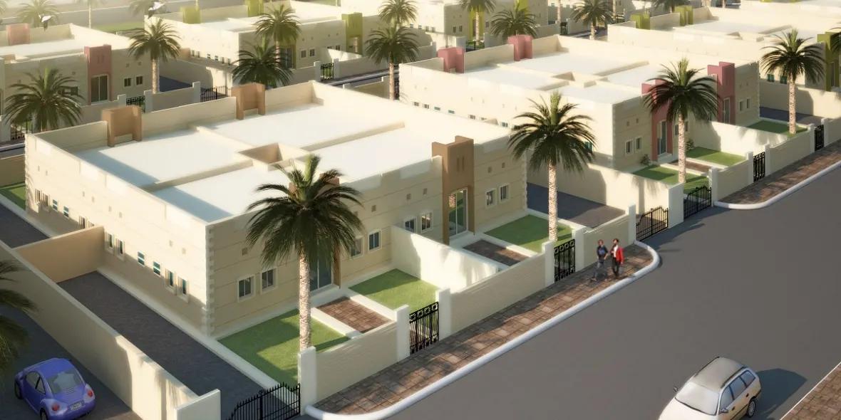Villas Construction Project - Oud Al Muteena 1