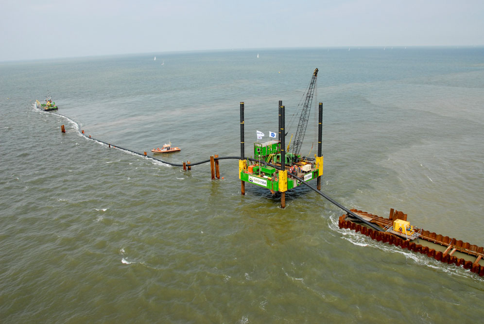 Harbours Construction Project