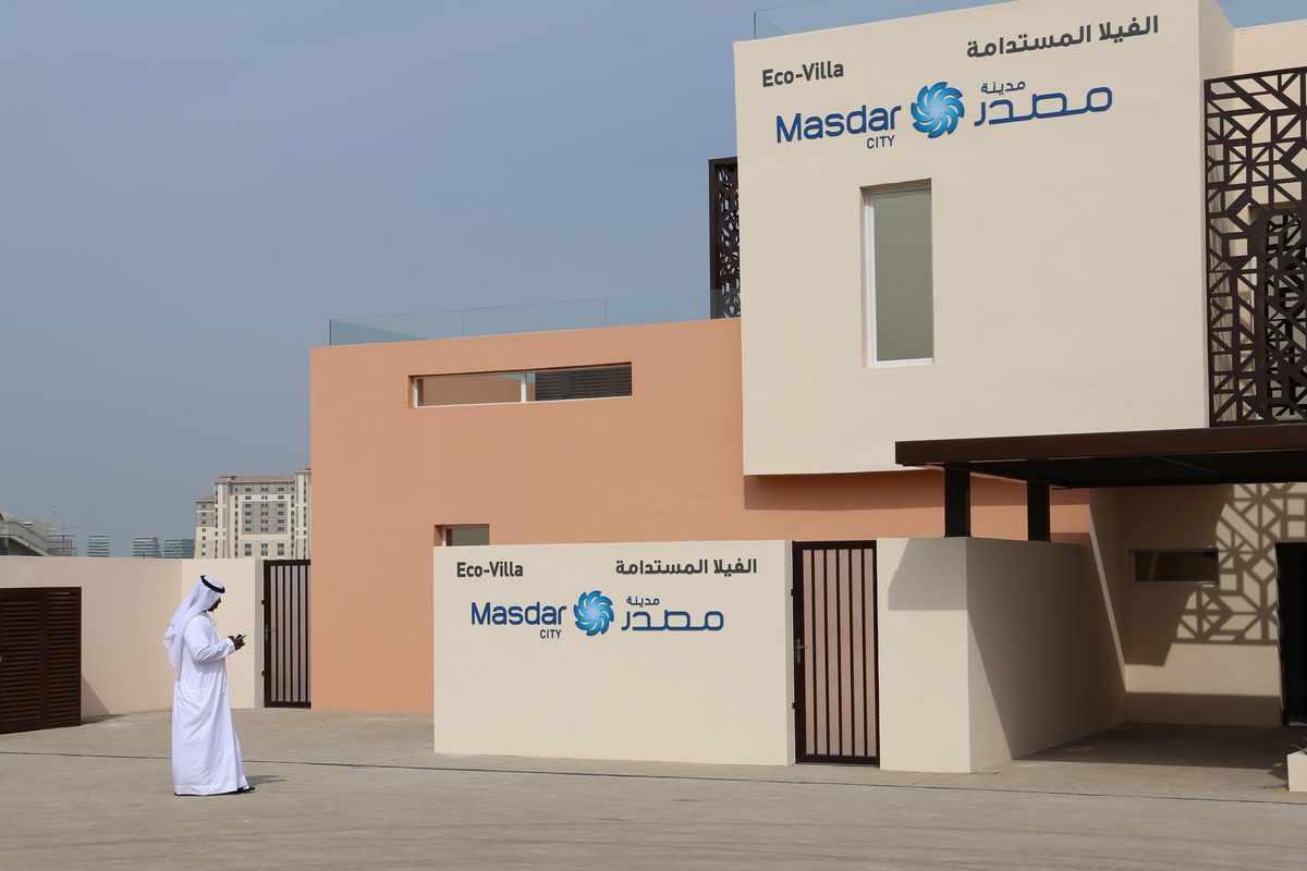 Eco-Friendly House Project - Masdar City