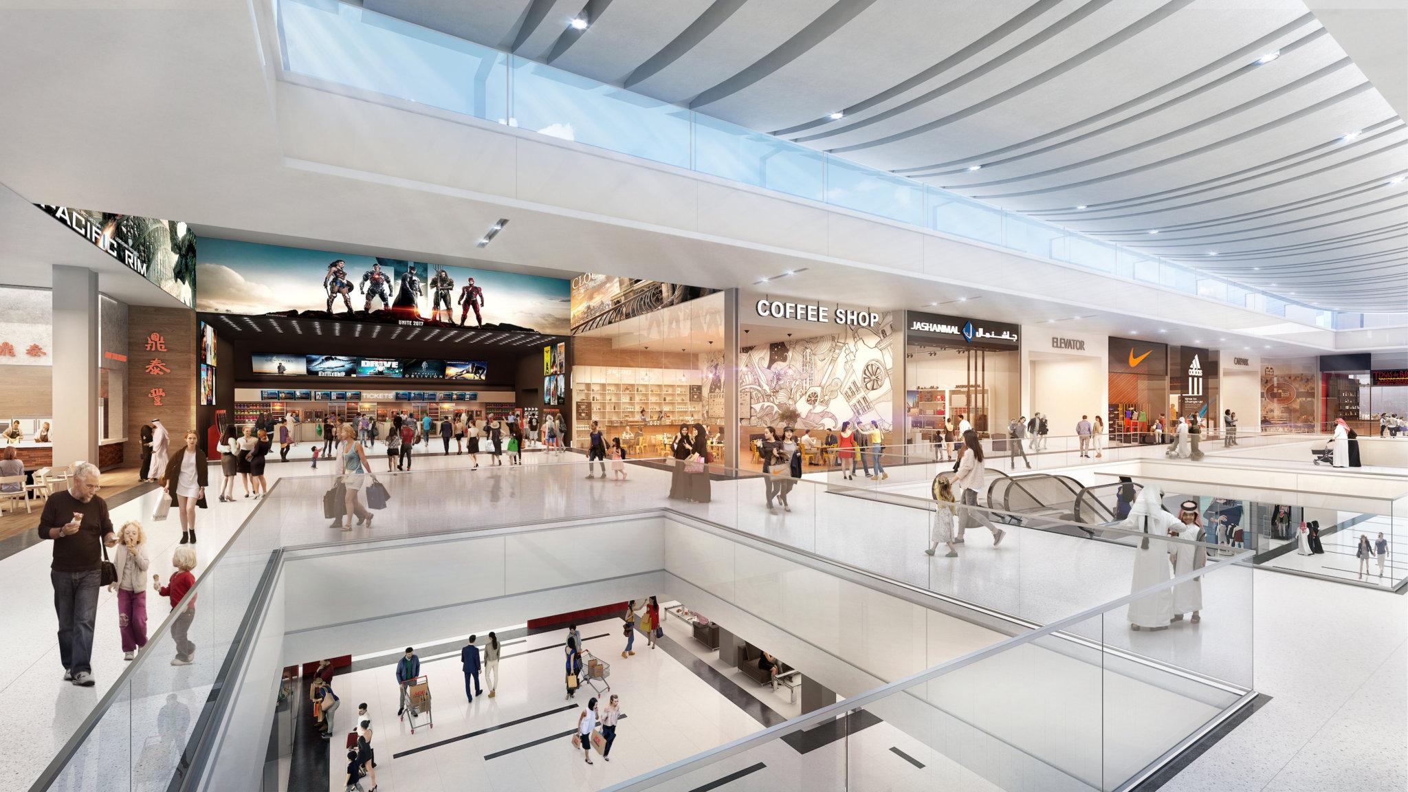 The Big Box Retail Mall - Wasl Gate1