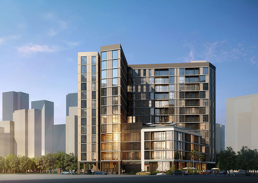 Al Thowima Residential Tower Project