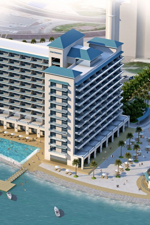 Marinas Construction Project - Azure Residences & The Pointe1