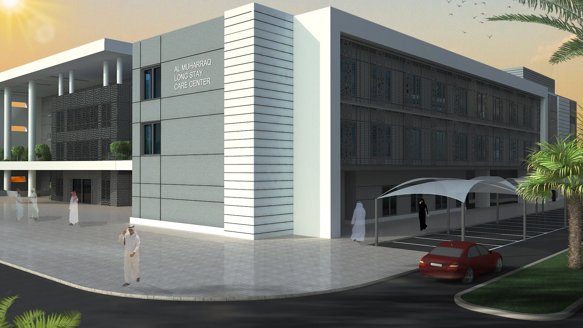 Muharraq Long-Stay Care Center Project