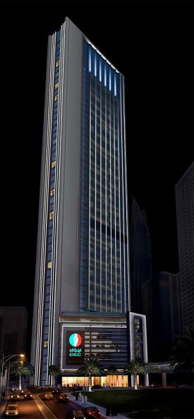 ENOC Tower Project - Downtown Dubai