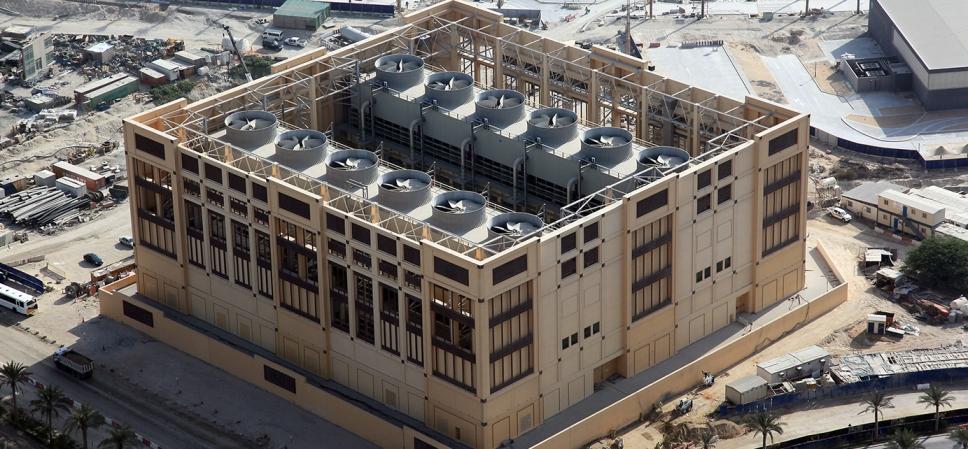 District Cooling Plant Construction - Deira Islands Night Souk