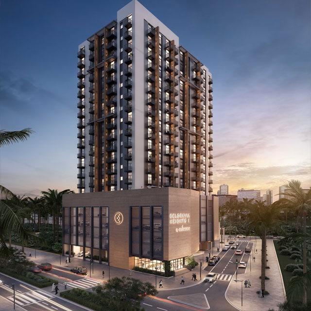 Belgravia Heights 2 Project - Jumeirah Village Circle