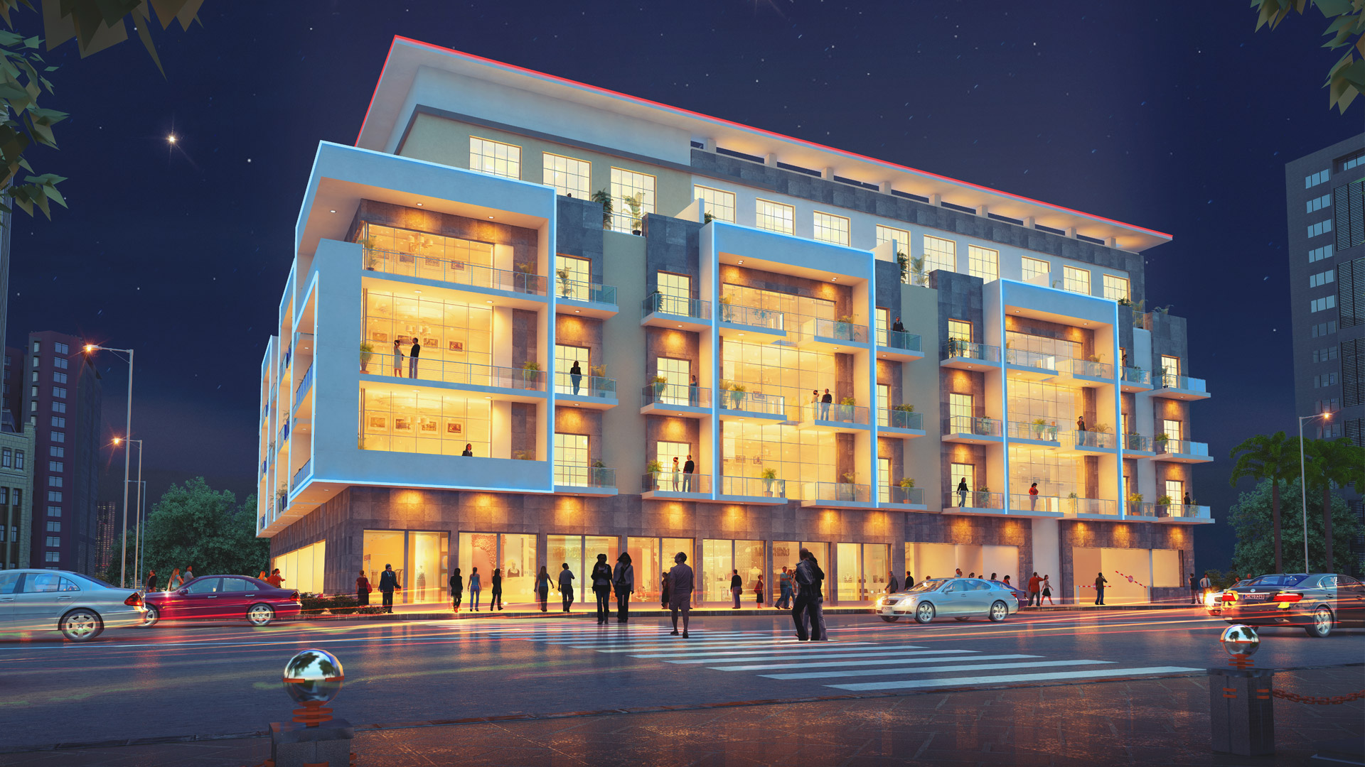 Mixed-Use Building Project - Jumeirah Village Circle