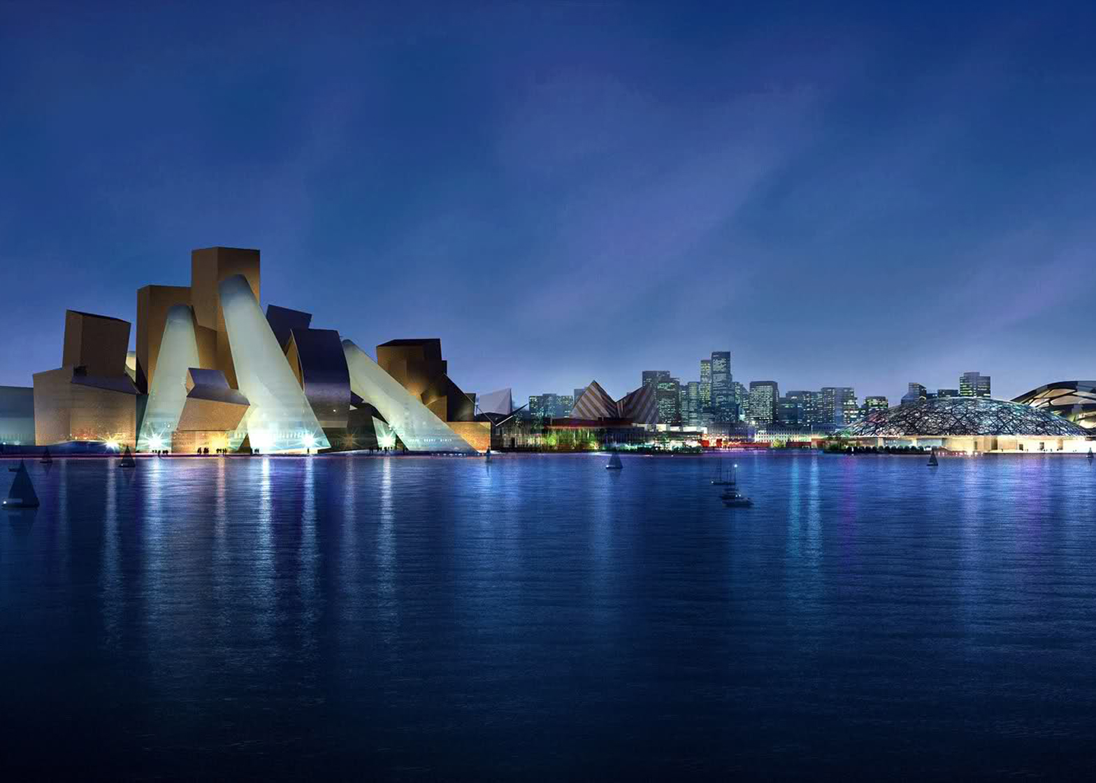 Guggenheim Abu Dhabi Museum Project - Saadiyat Island Development
