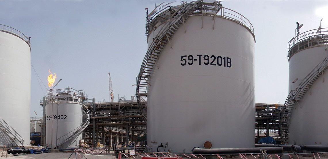 Hydrocarbon Storage Tanks Project