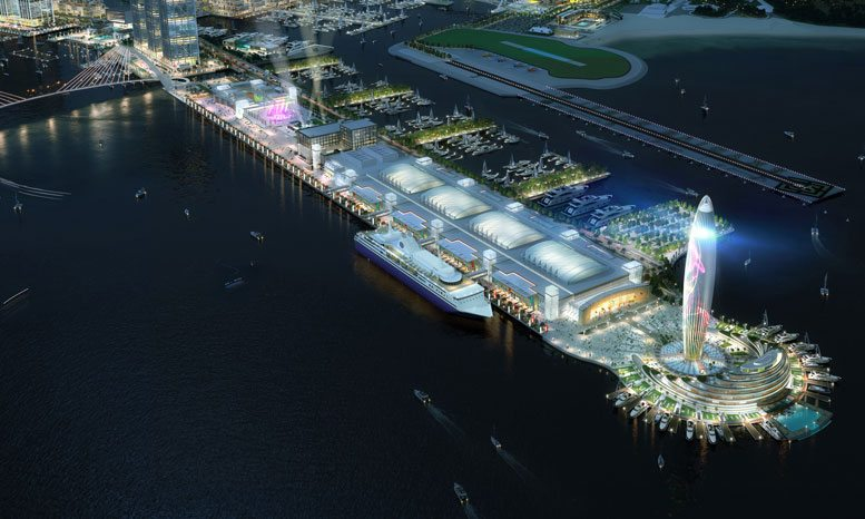 Dubai Cruise Terminal Project - Dubai Harbour
