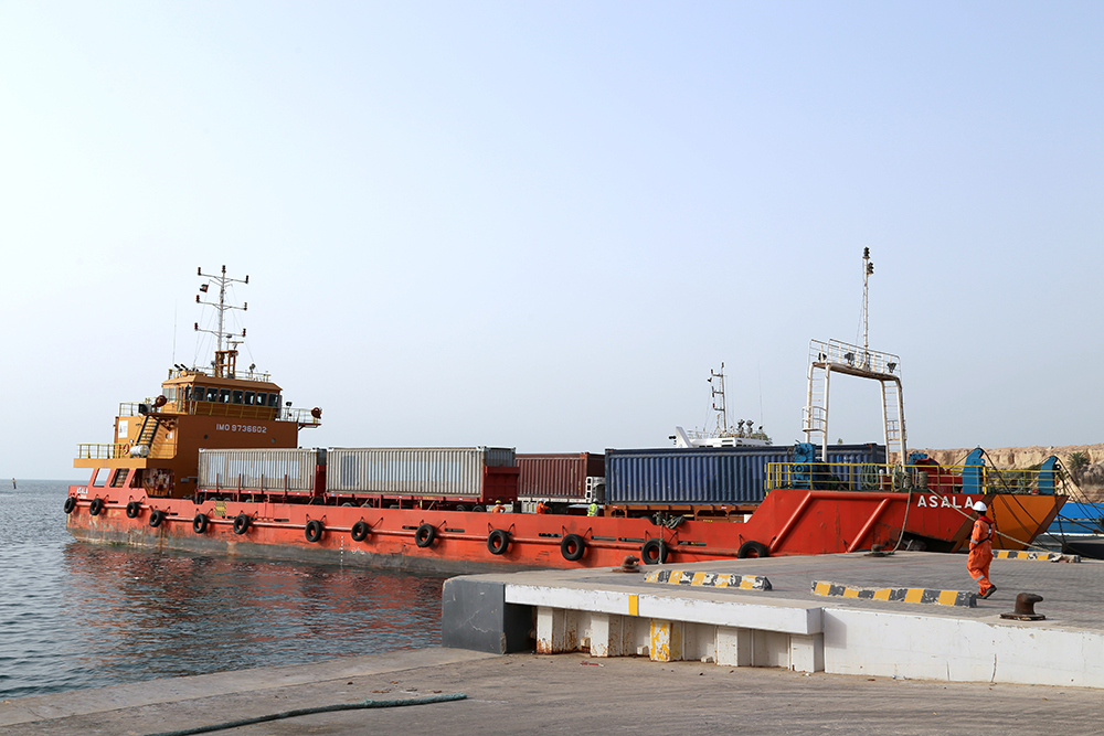 Quay Wall Extension Project - Mugharraq Port