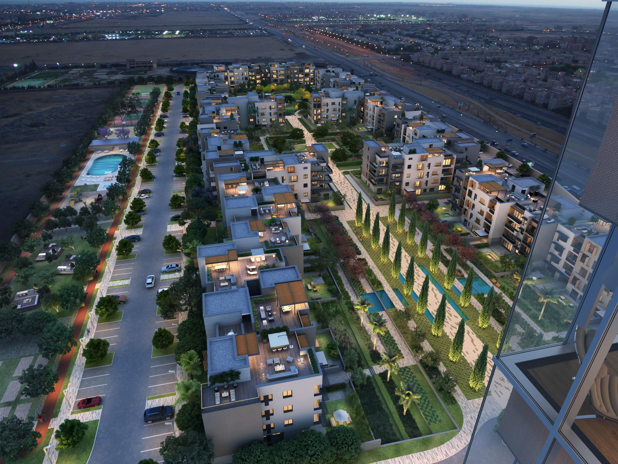 AEON Towers Project - Cairo1