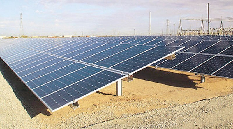 Solar Power Plant Project - Sohar Port and Freezone