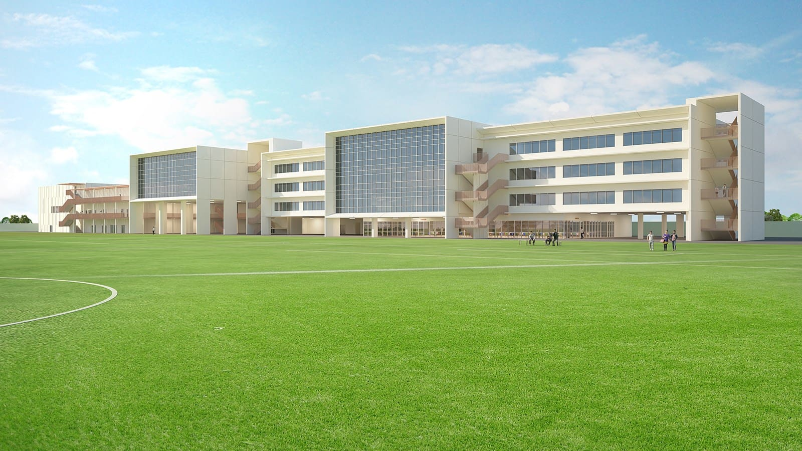 American School of Dubai Extension Project - Al Barsha
