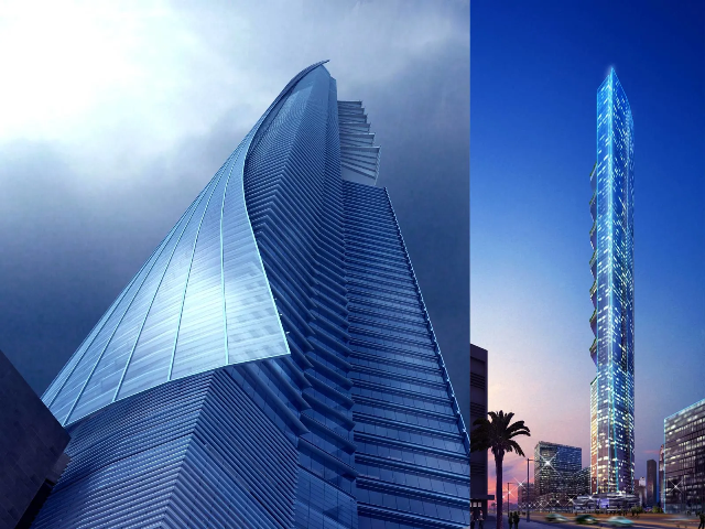 Pentominium Tower Project - Dubai Marina