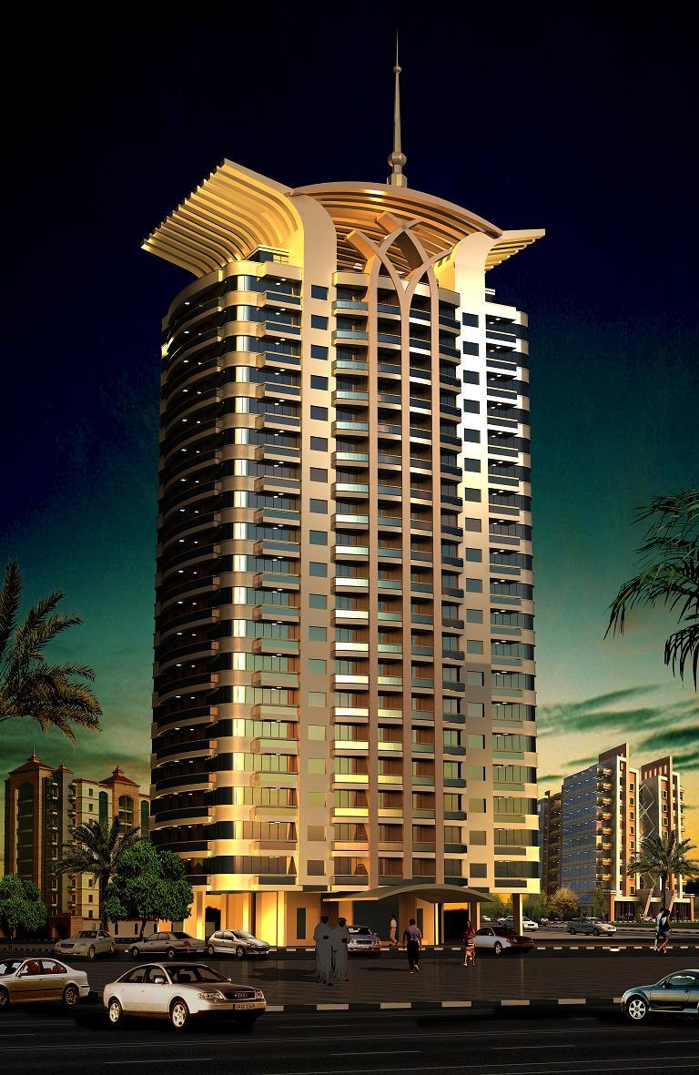 Champions Tower 4 Project - Dubai Sports City - Dubailand