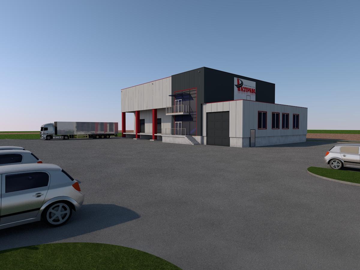 Auto Showroom & Warehouses Project