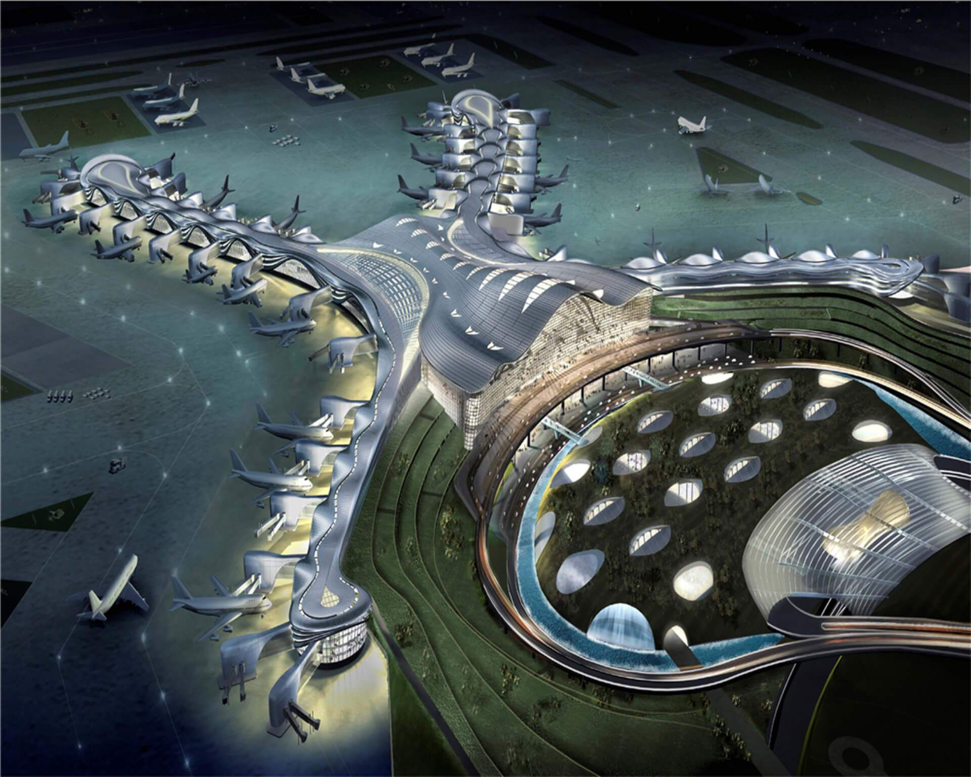 Midfield Terminal Project - Abu Dhabi International Airport Expansion