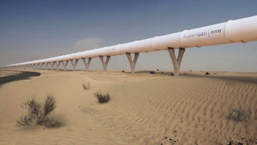 Abu Dhabi - Al Ain Hyperloop Link Project
