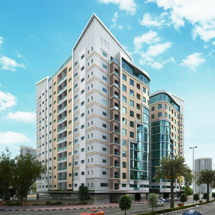 Hotel Apartments Building Project - Al Barsha South 5