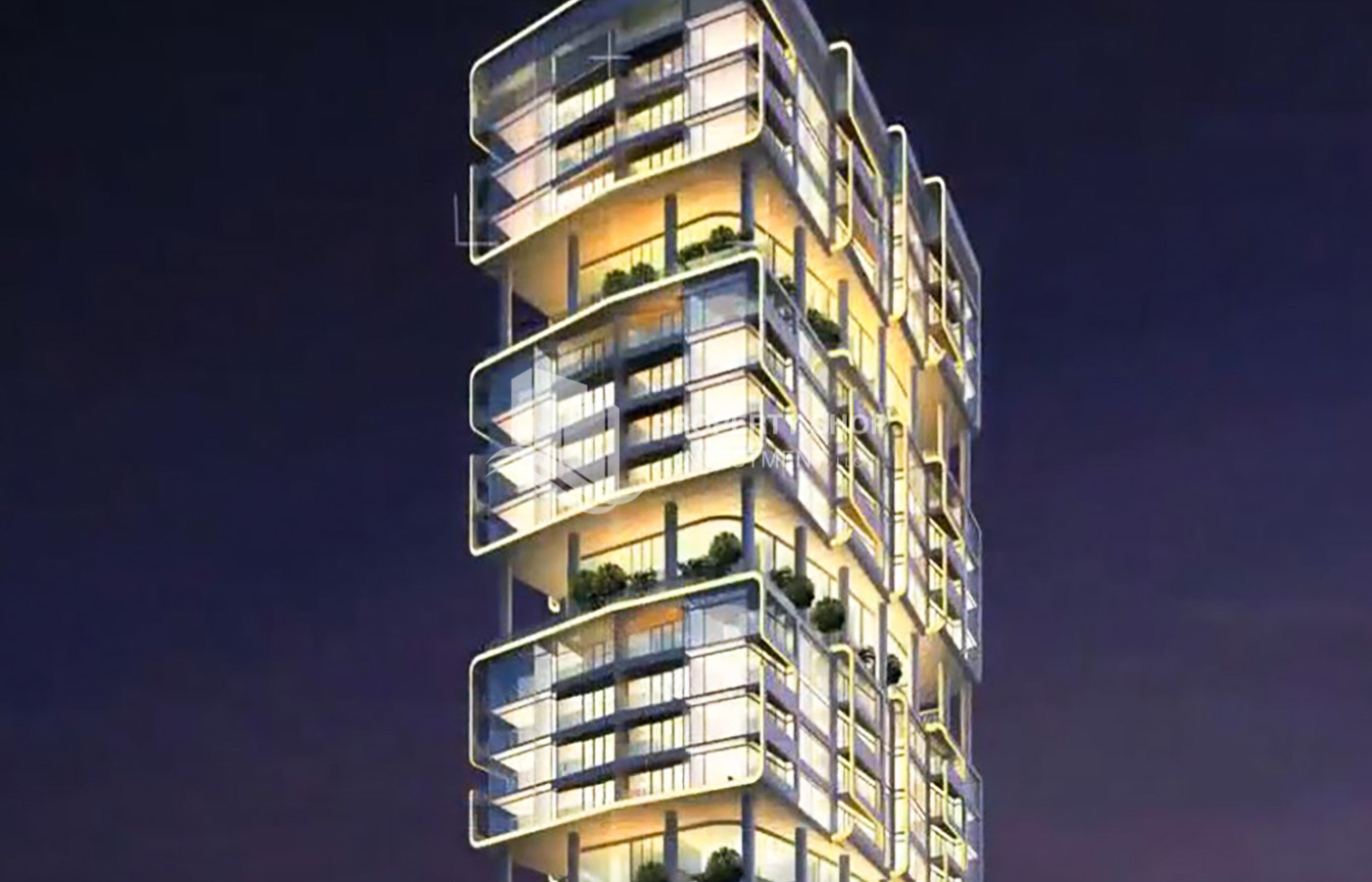 Sky Gardens Residential Tower Project - Al Reem Island