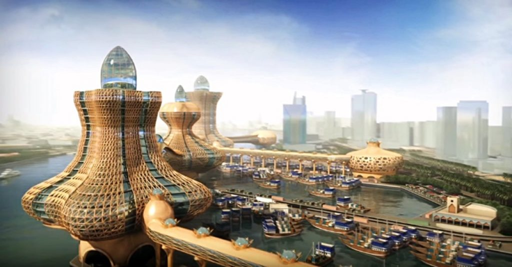 Aladdin Residential Tower Project - Dubailand