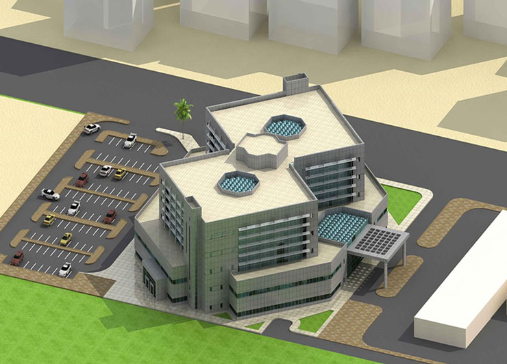 Anak Central Hospital Project