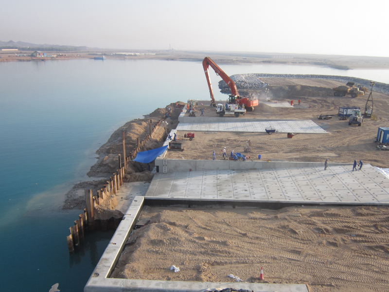 Marine Works Project - Delma Port