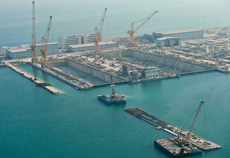 Quay Wall Construction Project - Dhiba Port