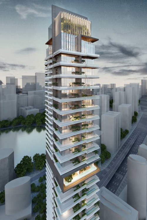 Adventz Tower Project - Downtown Dubai1