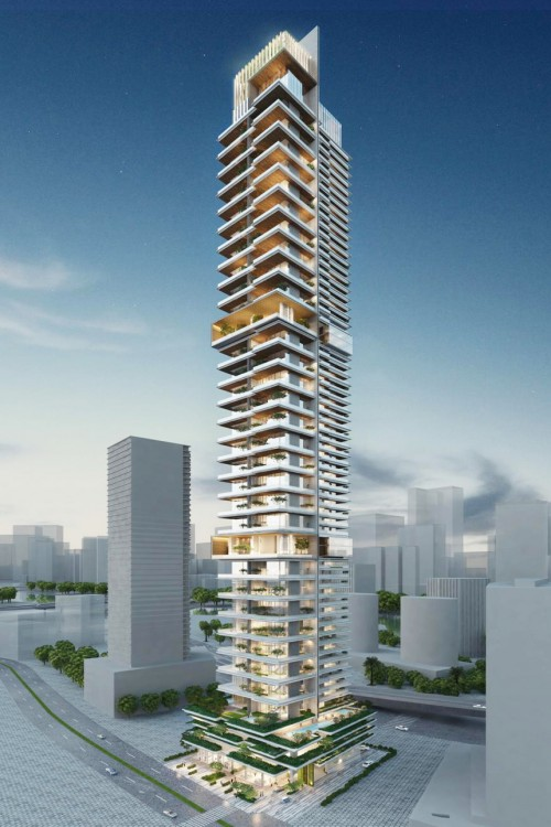 Adventz Tower Project - Downtown Dubai