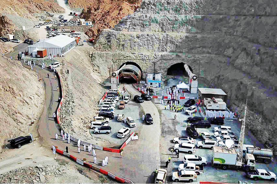 Khorfakkan - Shis Tunnel Project