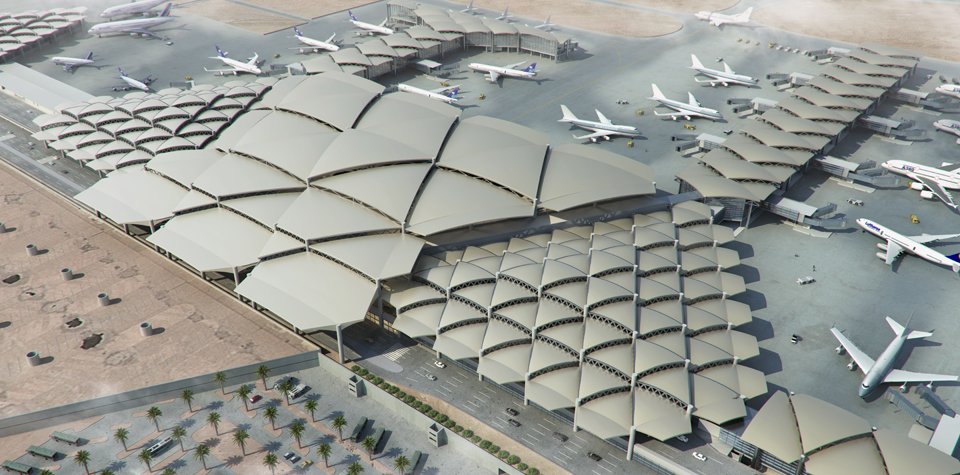 Terminals Expansion Project - King Khalid International Airport