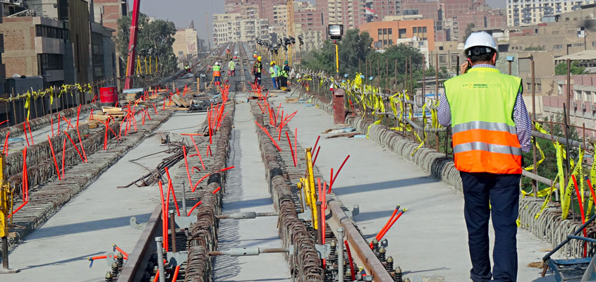 Cairo Metro Project - Line 3 - Phase 4B1