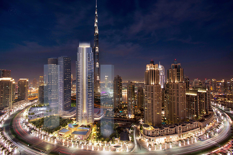 Opera Grand Residential Tower Project - Downtown Dubai