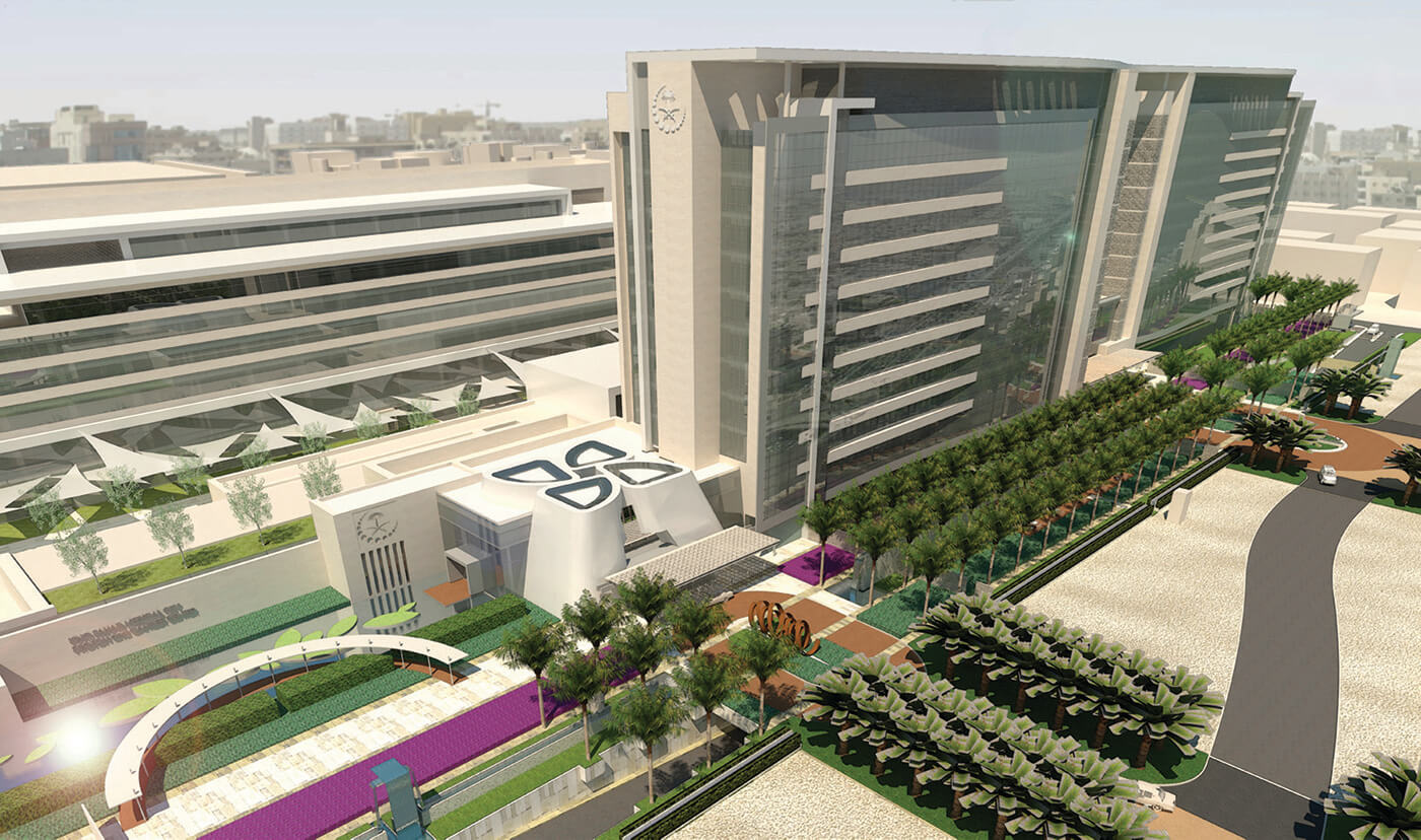 Proton Therapy Center Project - King Fahad Medical City2