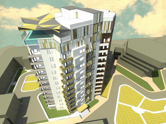 Commercial/Residential Building Project - Thoban