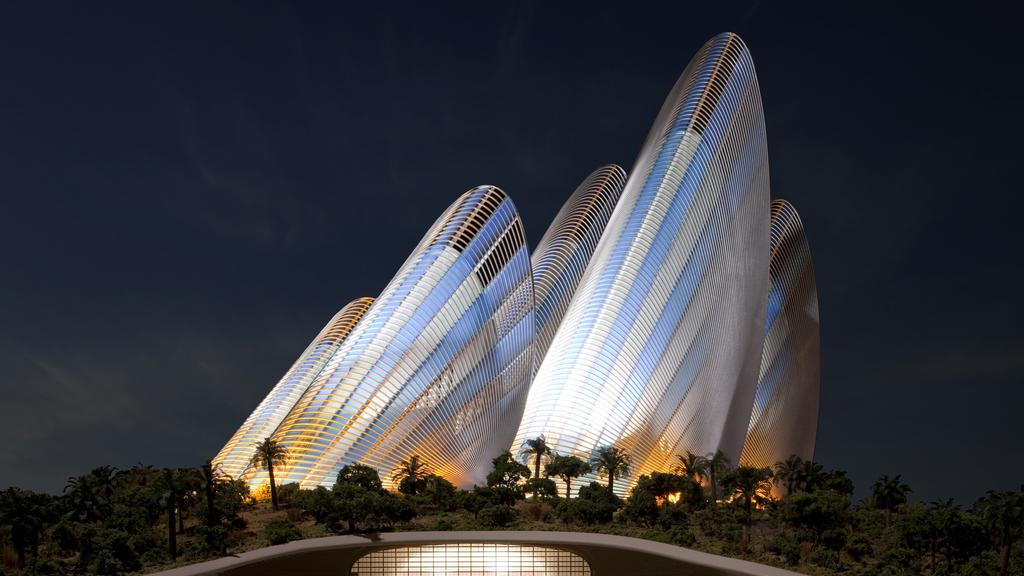 Sheikh Zayed National Museum Project - Saadiyat Island Development1