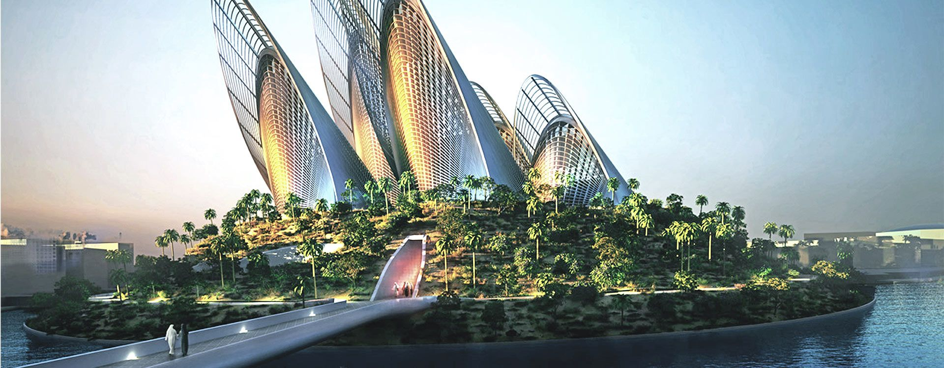 Sheikh Zayed National Museum Project - Saadiyat Island Development